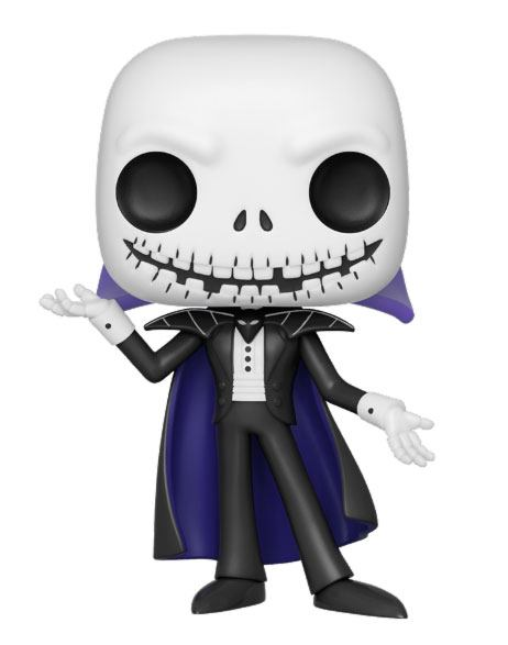 Nightmare before Christmas POP! Movies Vinyl Figure Vampire Jack 9 cm