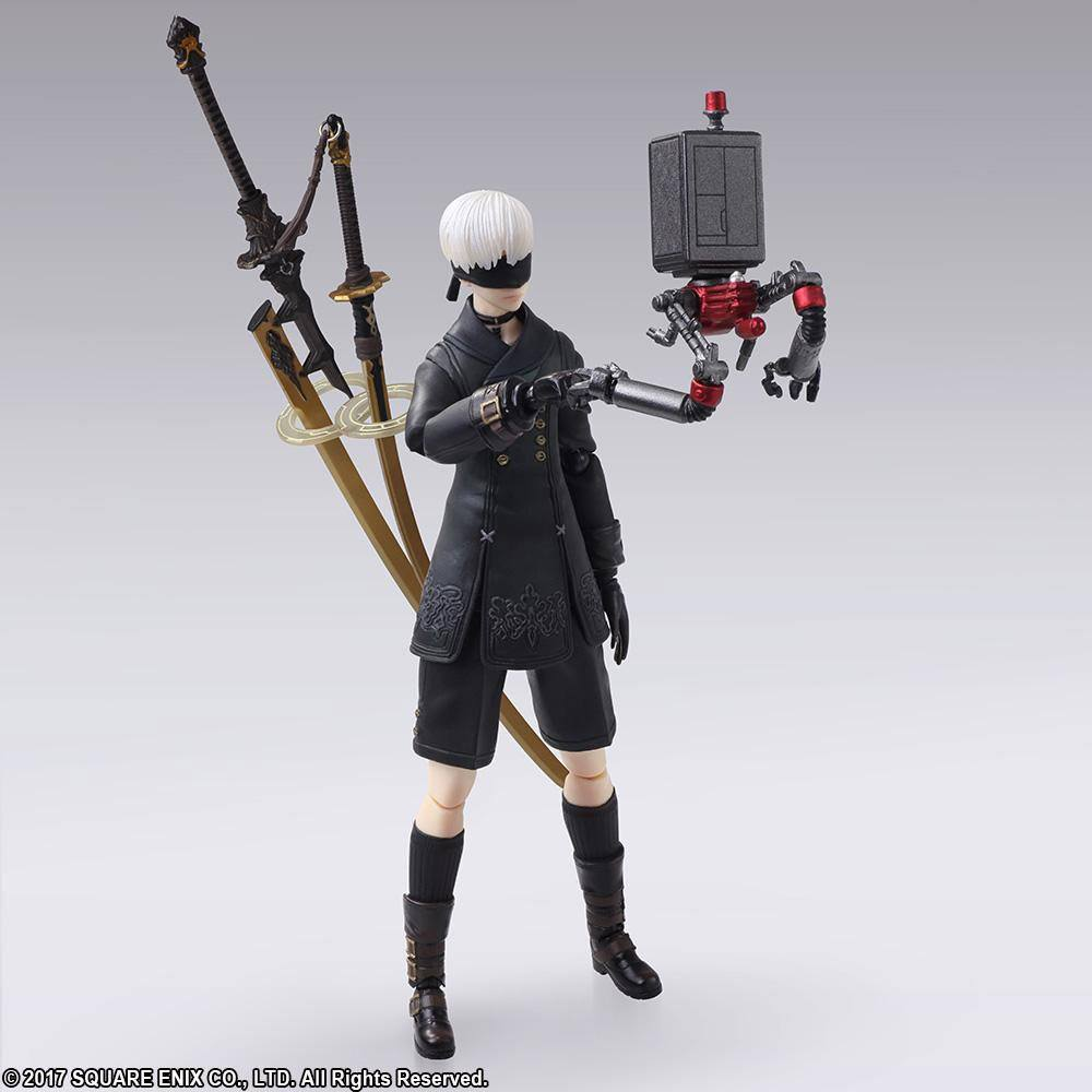 NieR Automata Bring Arts Action Figure 9S (YoRHa No. 9 Type S) 15 cm