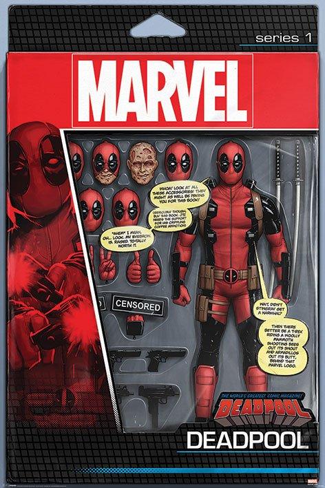 Deadpool Poster Pack Action Figure 61 x 91 cm (5)