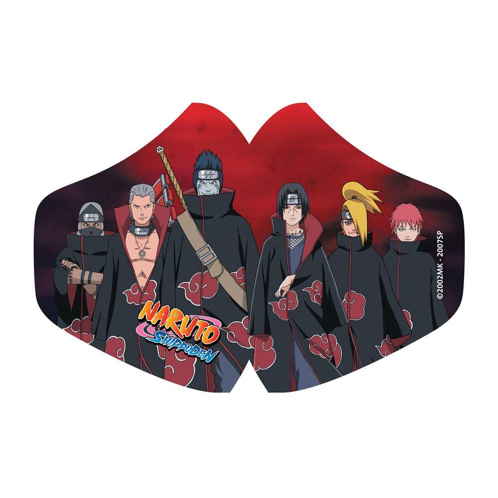 POPbuddies Naruto Face Mask Akatsuki