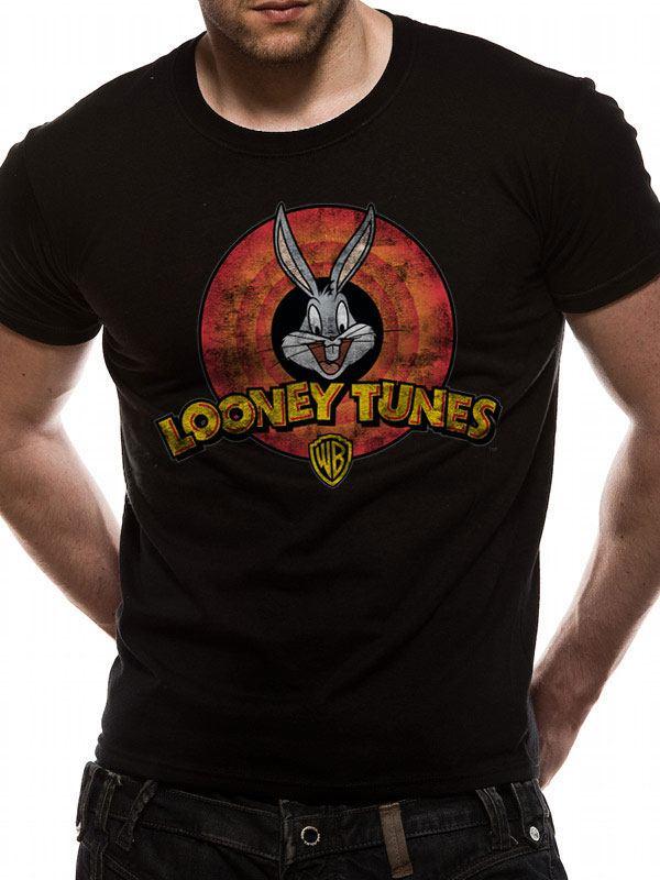 Looney Tunes T-Shirt Logo Size M