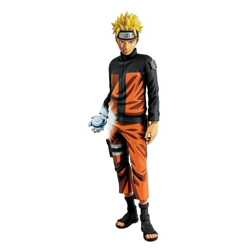 Naruto Shippuden Grandista Shinobi Relations Figure Uzumaki Naruto Manga Dimensions 27 cm