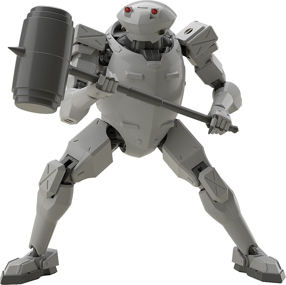 Full Metal Panic! Invisible Victory Moderoid Plastic Model Kit Rk-92 Savage (GRAY) 13 cm