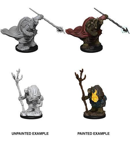 D&D Nolzur's Marvelous Miniatures Unpainted Miniatures Tortle Adventurers Case (6)