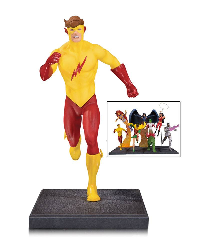Teen Titans Multi-Part Statue Kid Flash 16 cm (Part 5 of 7)