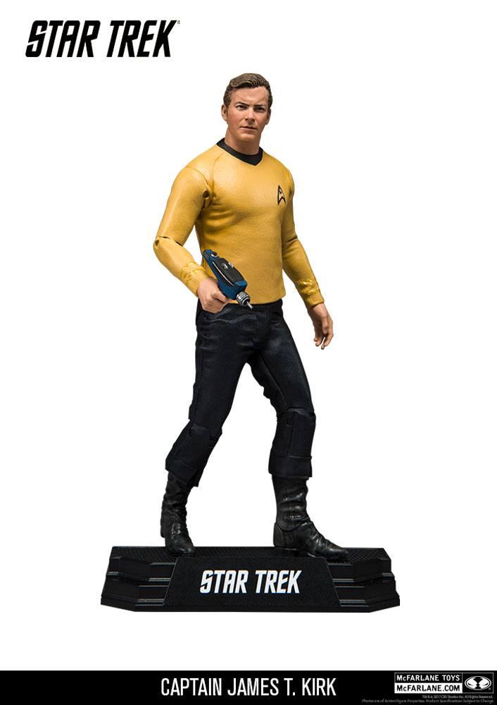 Star Trek TOS Action Figure Captain James T. Kirk 18 cm