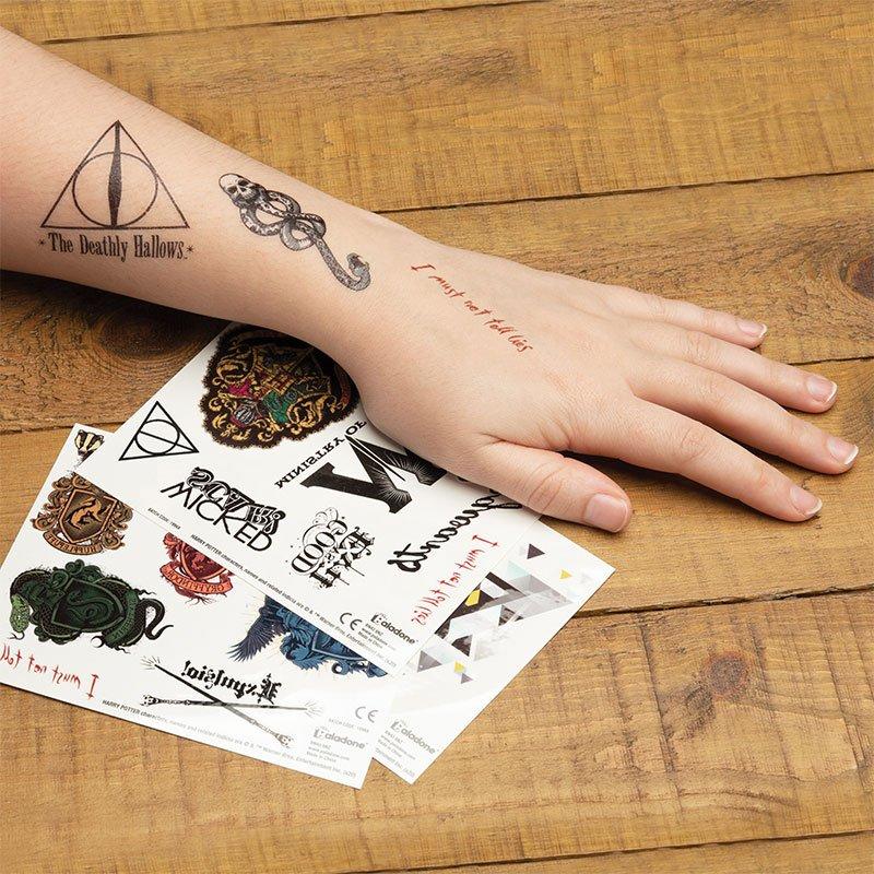 Harry Potter Temporary Tattoos Set