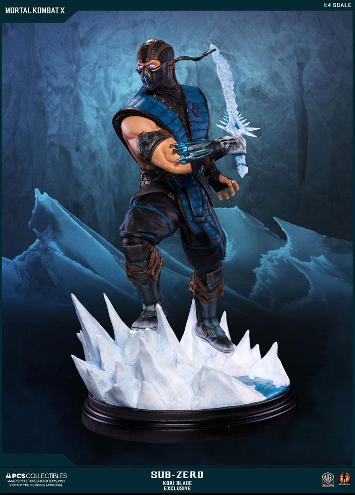 Mortal Kombat X Statue 1/4 Sub-Zero Kori Blade Exclusive 54 cm