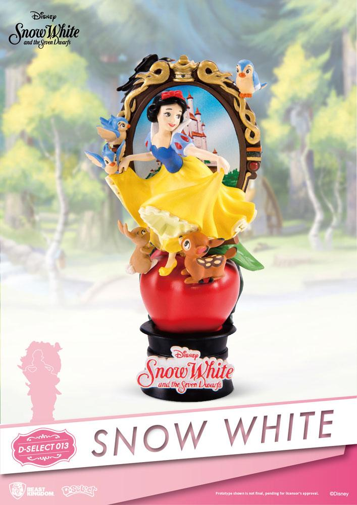 Snow White and the Seven Dwarfs D-Select PVC Diorama 15 cm