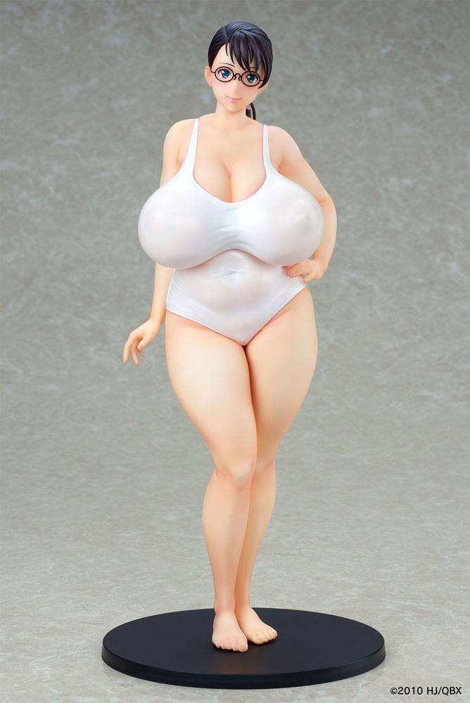 Queen´s Blade Beautiful Fighters PVC Statue 1/7 Weapon Seller Cattleya White Swimsuit Ver. 25 cm