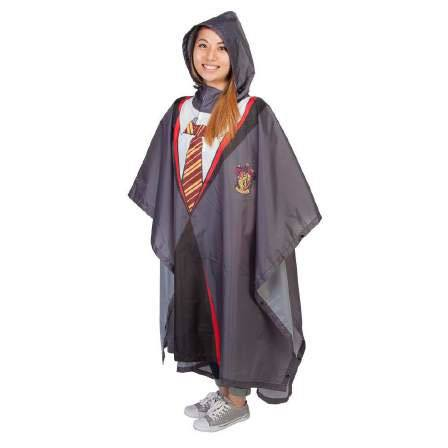 Harry Potter Rain Poncho Gryffindor