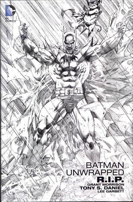 DC Comics Comic Book Batman R.I.P. Unwrapped by Grant Morrison english