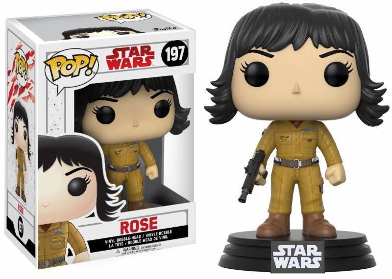 Star Wars Episode VIII POP! Vinyl Bobble-Head Rose 9 cm