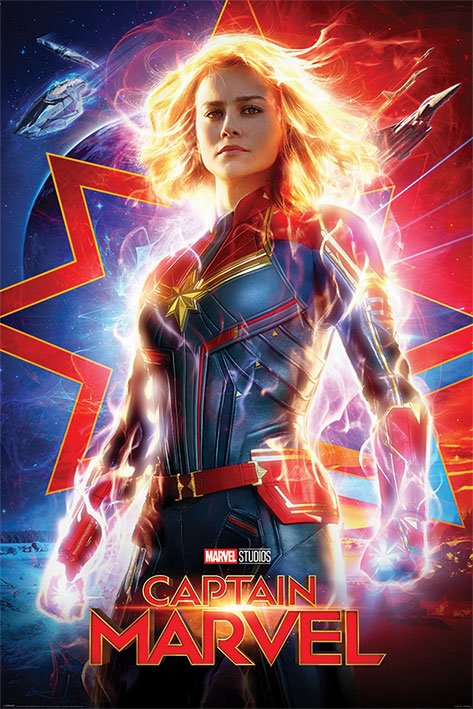 Captain Marvel Poster Pack Higher, Further, Faster 61 x 91 cm (5)