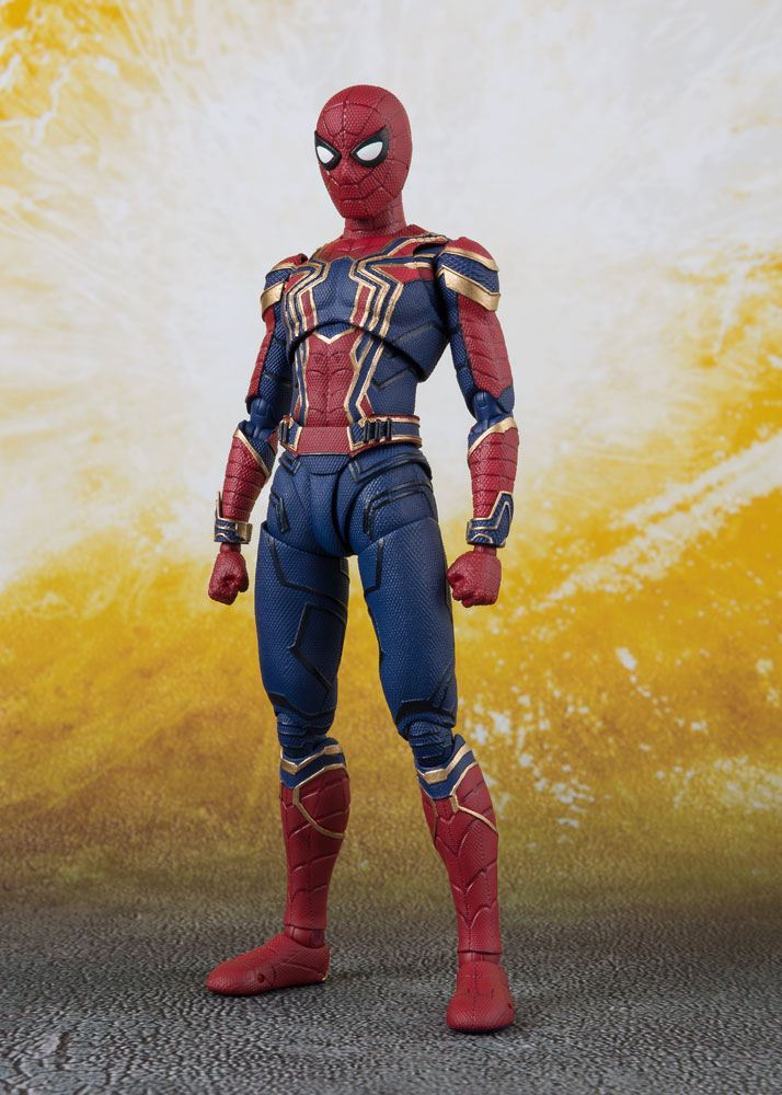 Avengers Infinity War S.H. Figuarts Action Figure Iron Spider & Tamashii Stage 14 cm