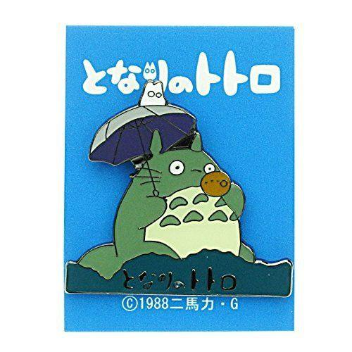 My Neighbor Totoro Pin Badge Ocarina Logo