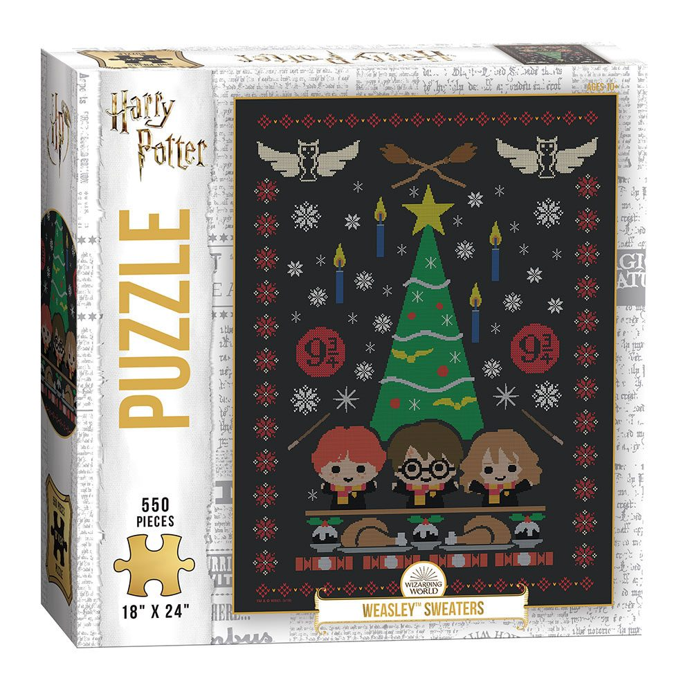 Harry Potter Jigsaw Puzzle Weasley Sweaters (550 pieces)