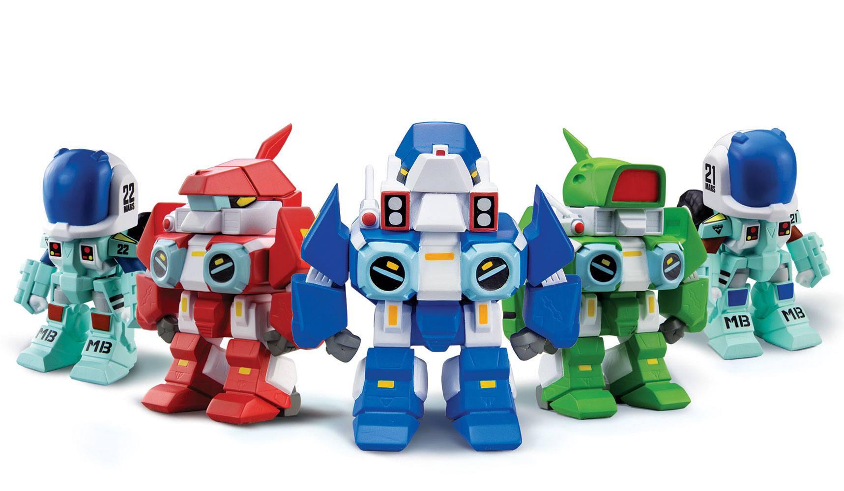 Robotech New Generation Super Deformed Blind Box Figures Display 9 cm (15)