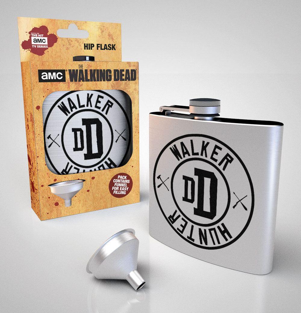 Walking Dead Hip Flask Walker Hunter