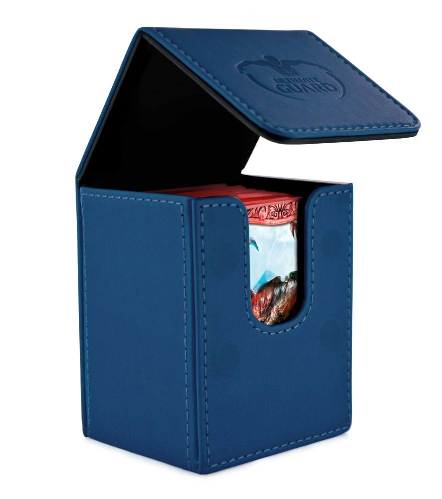 Ultimate Guard Flip Deck Case 100+ Standard Size Dark Blue