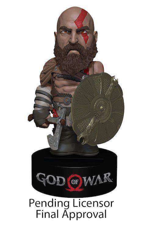 God of War 2018 Body Knocker Bobble-Figure Kratos 16 cm