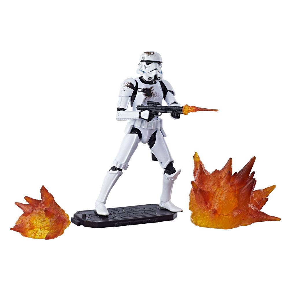 Star Wars Black Series Action Figure 2018 Stormtrooper with Blast Accessories Exclusive 15 cm --- DAMAGED PACKAGING