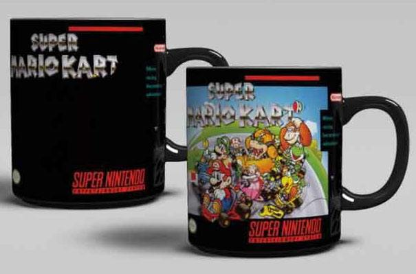 Super Nintendo Heat Change Mug Super Mario Kart