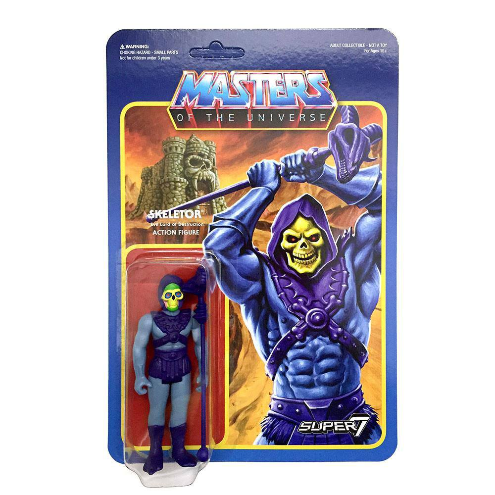 Masters of the Universe ReAction Action Figure Wave 2 Skeletor 10 cm