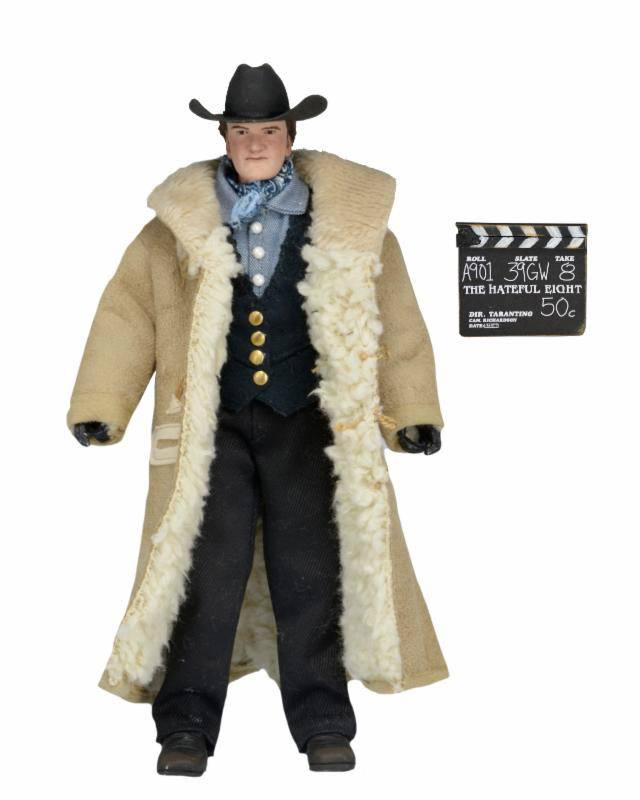 The Hateful Eight Action Figure Quentin Tarantino 20 cm