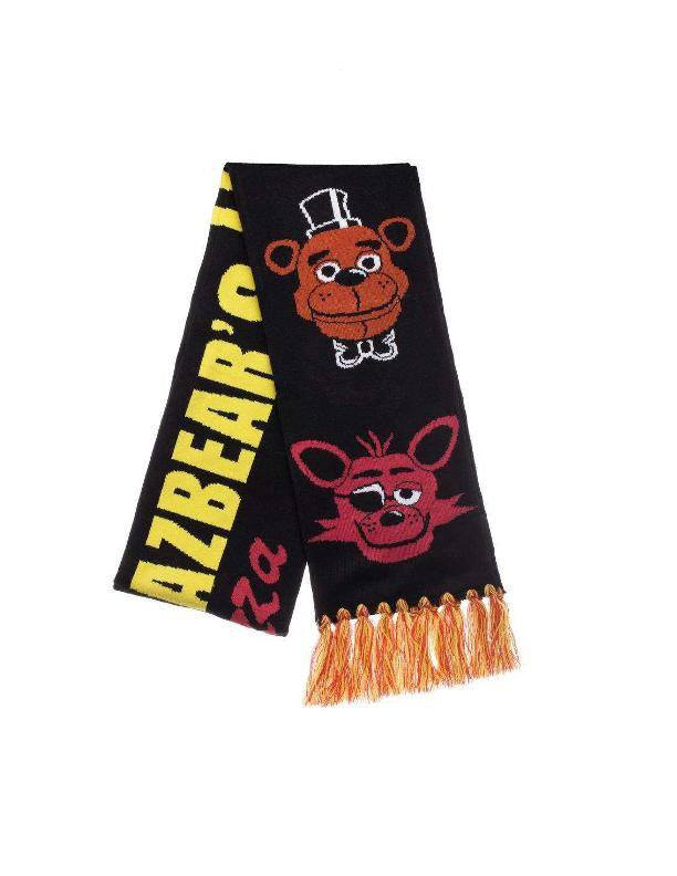 Five Nights at Freddy's Scarf Characters