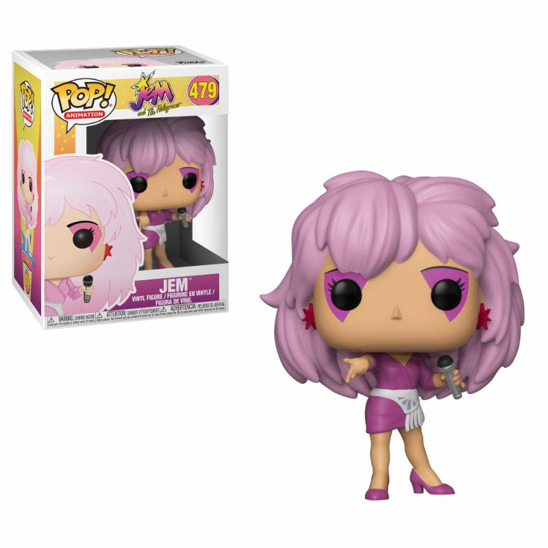 Jem and the Holograms POP! Animation Vinyl Figure Jem 9 cm