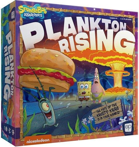SpongeBob Board Game Plankton Rising *English Version*