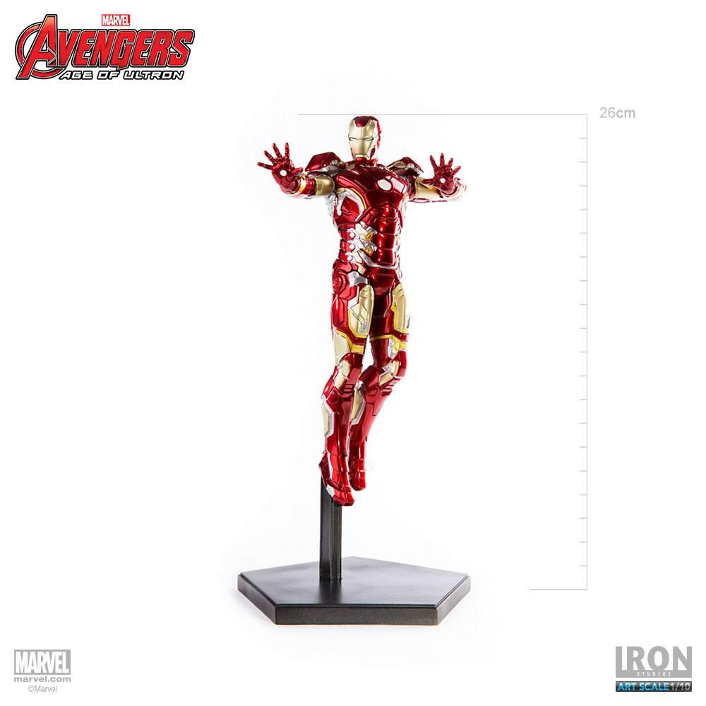 Avengers Age of Ultron Statue 1/10 Iron Man Mark XLIII 28 cm