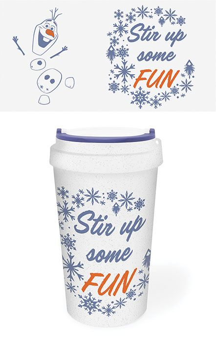Frozen 2 Eco Travel Mug Stir Up