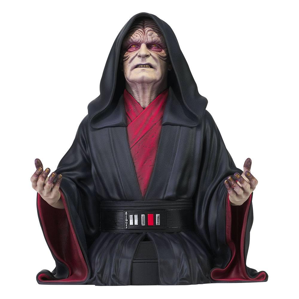 Star Wars Episode IX Bust 1/6 Emperor Palpatine 18 cm