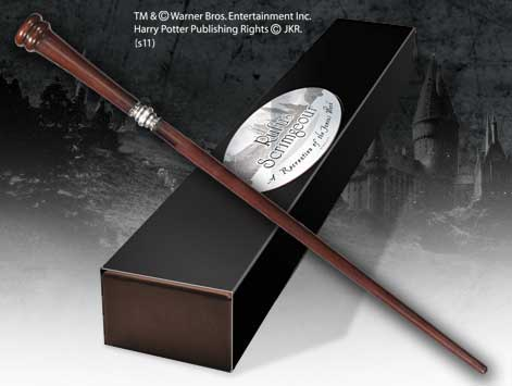 Harry Potter Wand Rufus Scrimgeour (Character-Edition)