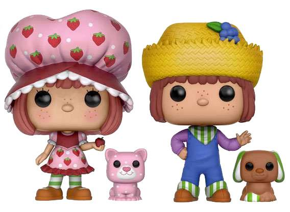 Strawberry Shortcake POP! Vinyl Figures 2-Pack Strawberry Shortcake & Huckleberry Pie 9 cm