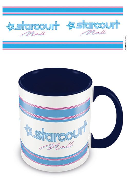 Stranger Things Coloured Inner Mug Starcourt Mall