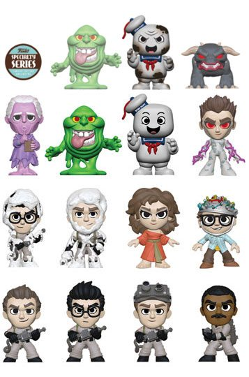 Ghostbusters Mystery Mini Figures 5 cm Display Speciality Series (12)