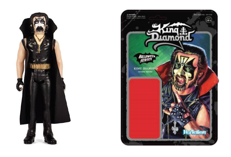 King Diamond ReAction Action Figure King Diamond Classic Edition 10 cm