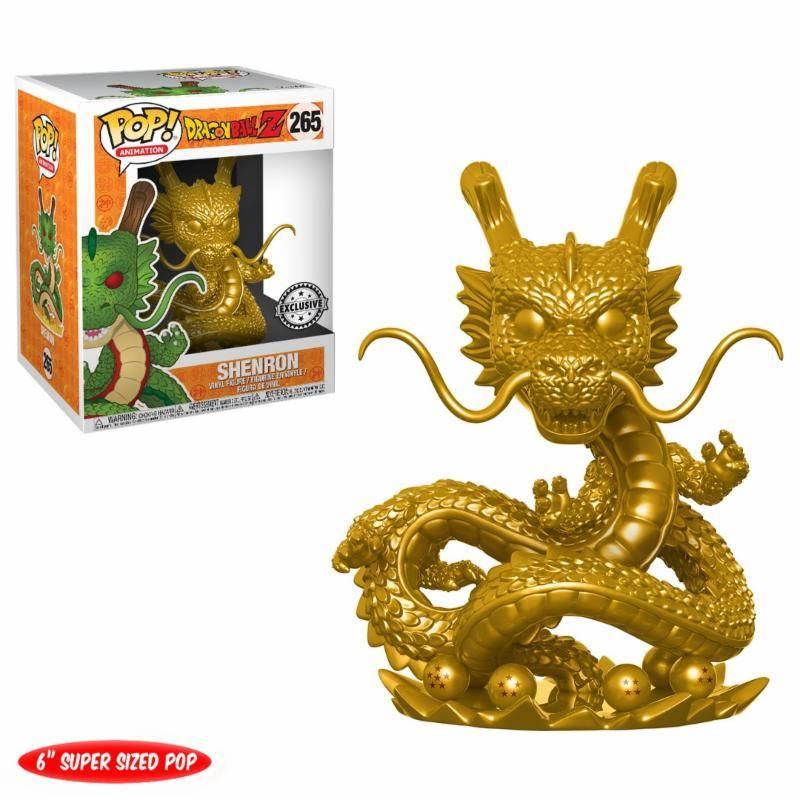 Dragonball Z POP! Animation Vinyl Figure Shenron (Gold) 15 cm