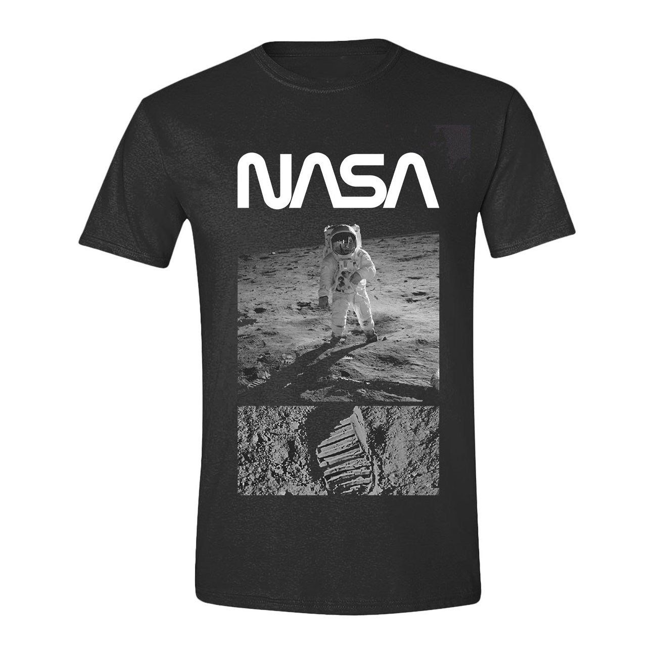 NASA T-Shirt Man on the Moon Size L