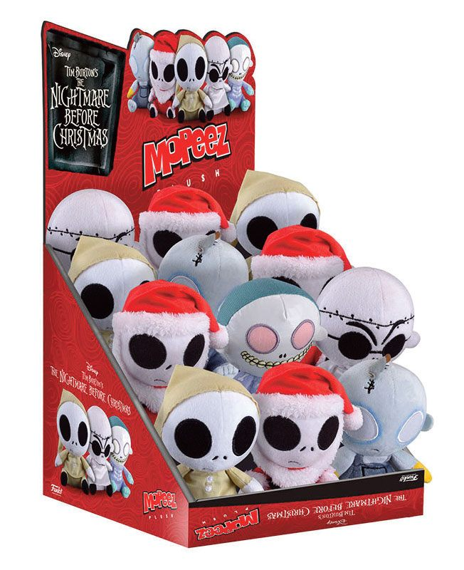 Nightmare Before Christmas Mopeez Plush Figure 12 cm Display Special Edition (12)