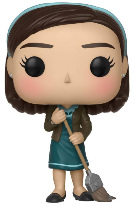 The Shape of Water POP! Movies Vinyl Figure Elisa with Broom 9 cm