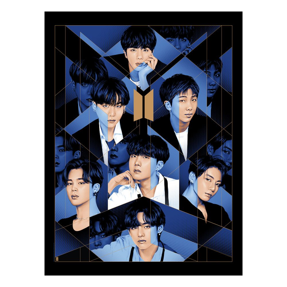 BTS Fine Art Print BE 46 x 61 cm - unframed