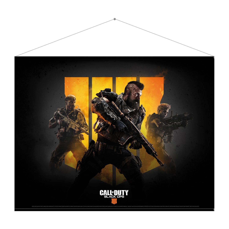 Call of Duty Black Ops 4 Wallscroll Keyart 100 x 77 cm