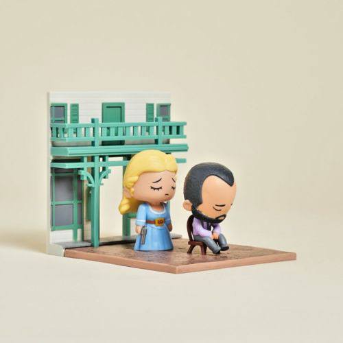 Westworld Diorama Lootcrate Exclusive 13 x 14 cm