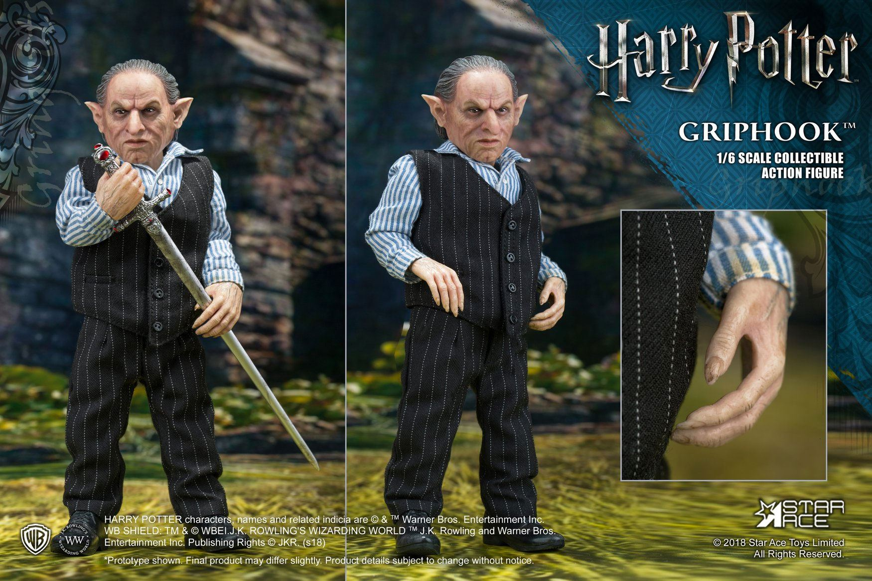 Harry Potter My Favourite Movie Action Figure 1/6 Griphook (Banker) 20 cm