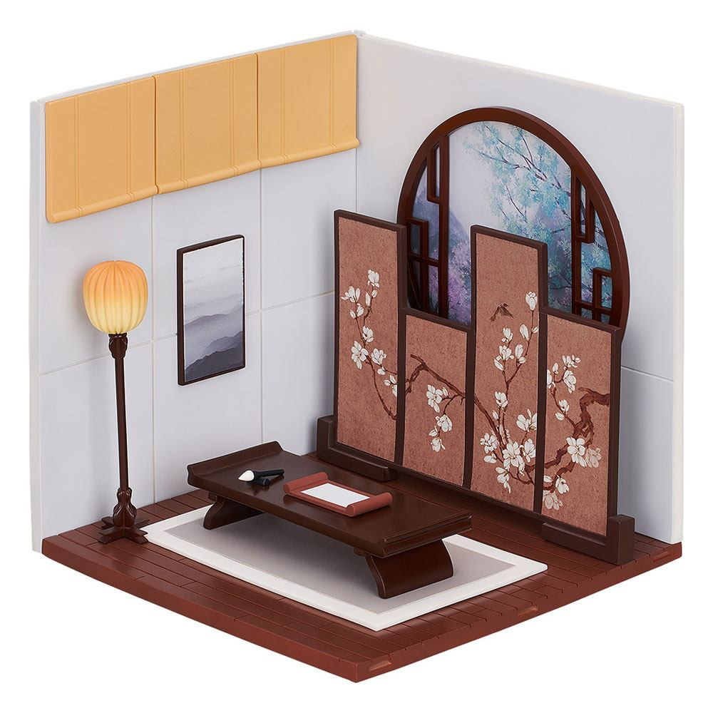 Nendoroid More Decorative Parts for Nendoroid Figures Playset 10 Chinese Study A Set 16 cm