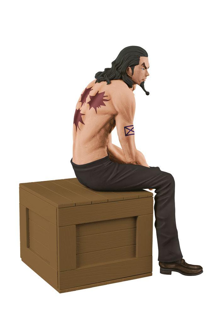 One Piece Body Calender Vol. 1 Figure Rob Lucci Special Black Pants Ver. 12 cm